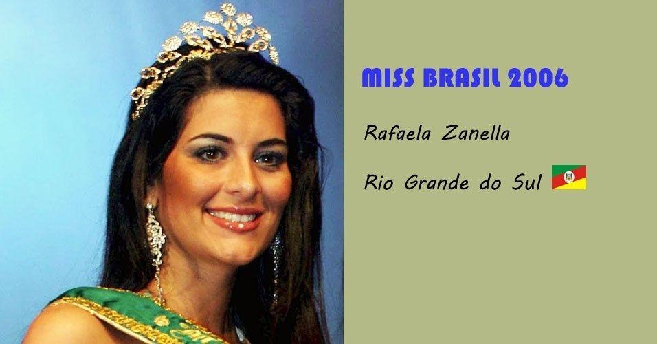 Rafaela Zanella Miss Brasil 2005