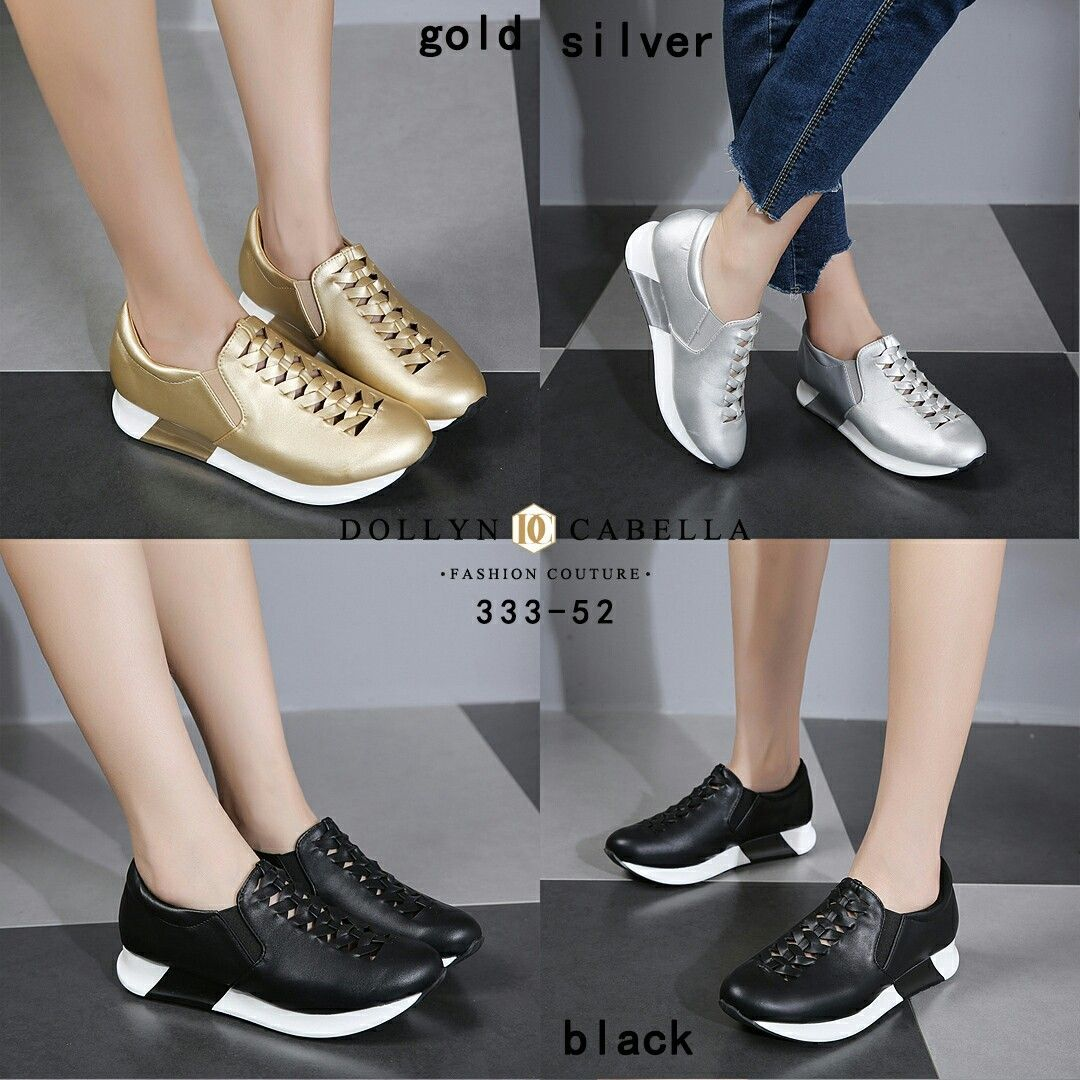 Dollyn Cabella Berel Series 333 52 Black Gold Silver Insole Size 36 23cm 37 23 5cm 38 24cm 39 24 5cm 40 25cm Weight 7ons Material Leather Har