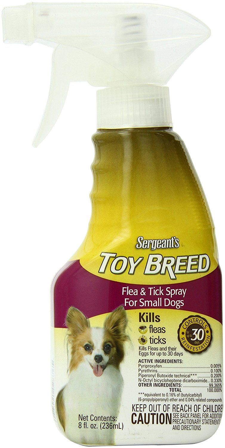 Sergeant S Flea And Tick Spray Toy Breed 8 Ounce Tried It Love It Click The Image Flea And Flea And Tick Spray Flea Spray For Cats Flea Spray For Dogs