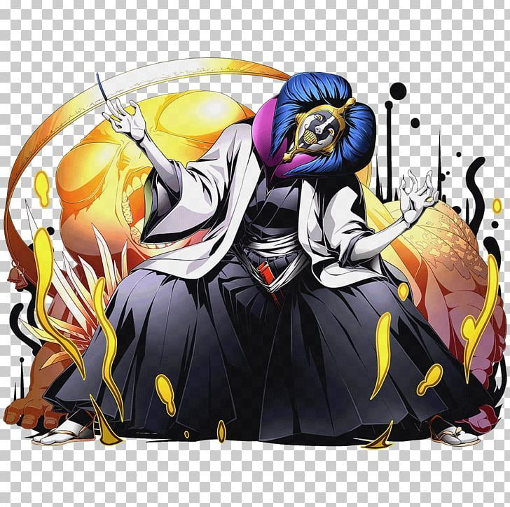 style, color, shape, pop culture reference mayuri (bleach