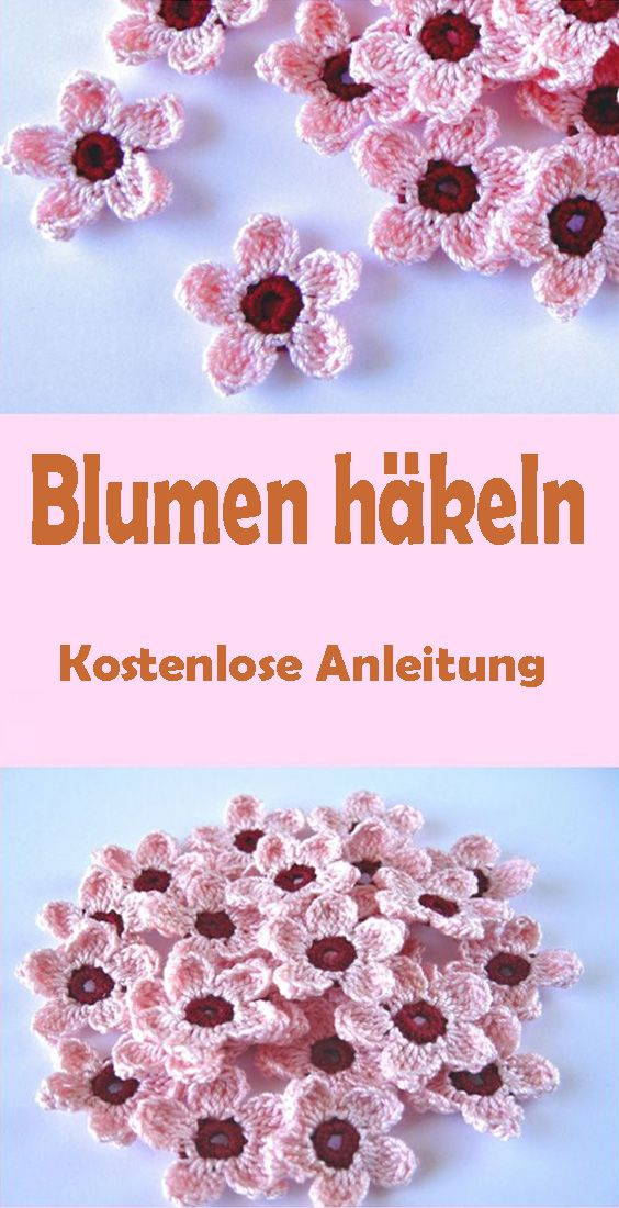 Photo of Blumen häkeln für Anfänger – kostenlose DIY Anleitung