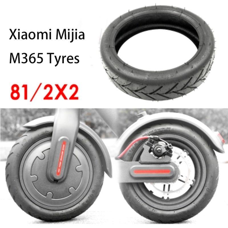 Xiaomi Mijia M365 Electric Scooter Tires Tyres 8 1 2x2 Inflation