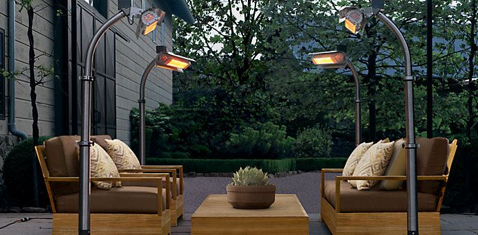 Kindle Living » Allison Kindle Heater     Patio Heater, Outdoor Lamp,  Cocktail Table... Very Cool. Options For Shade Style, Color, And Color Of  Ligu2026