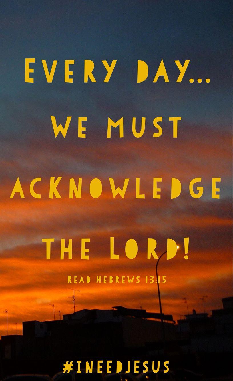 Hebrews 13:15