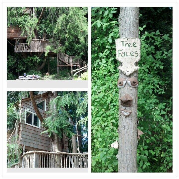 Tree house @ Orcas Island Pottery, Orcas Island WA