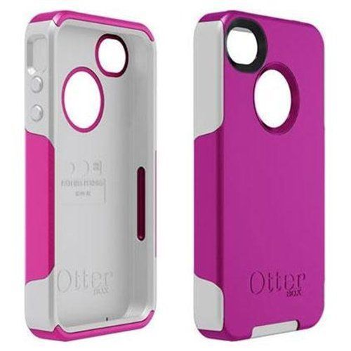 OtterBox Commuter Case Cover For Apple IPhone 4 Pink White OEM 77 18549