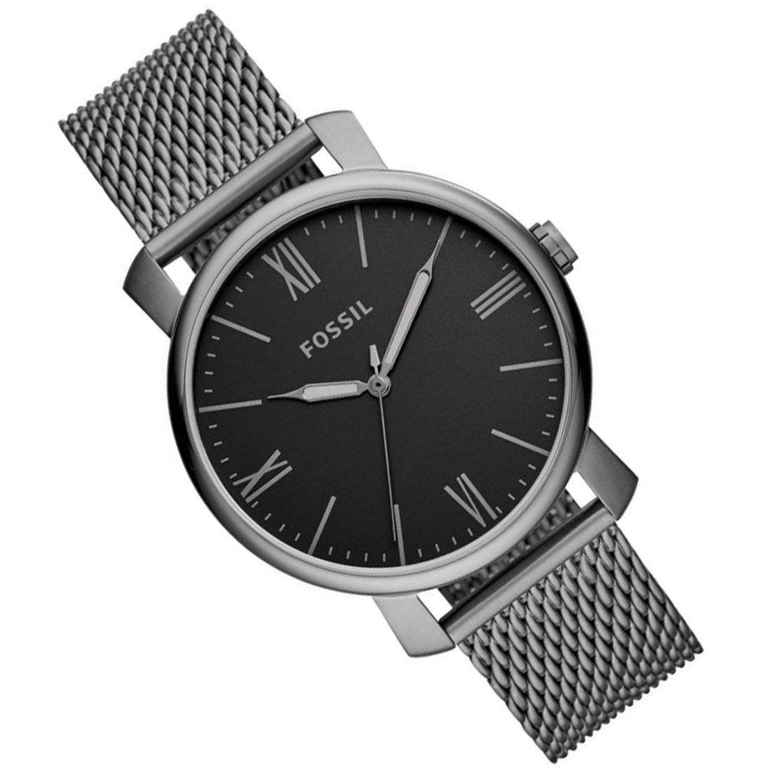 BQ2370 Fossil Rhett Smoke Stainless Steel Male Watch in