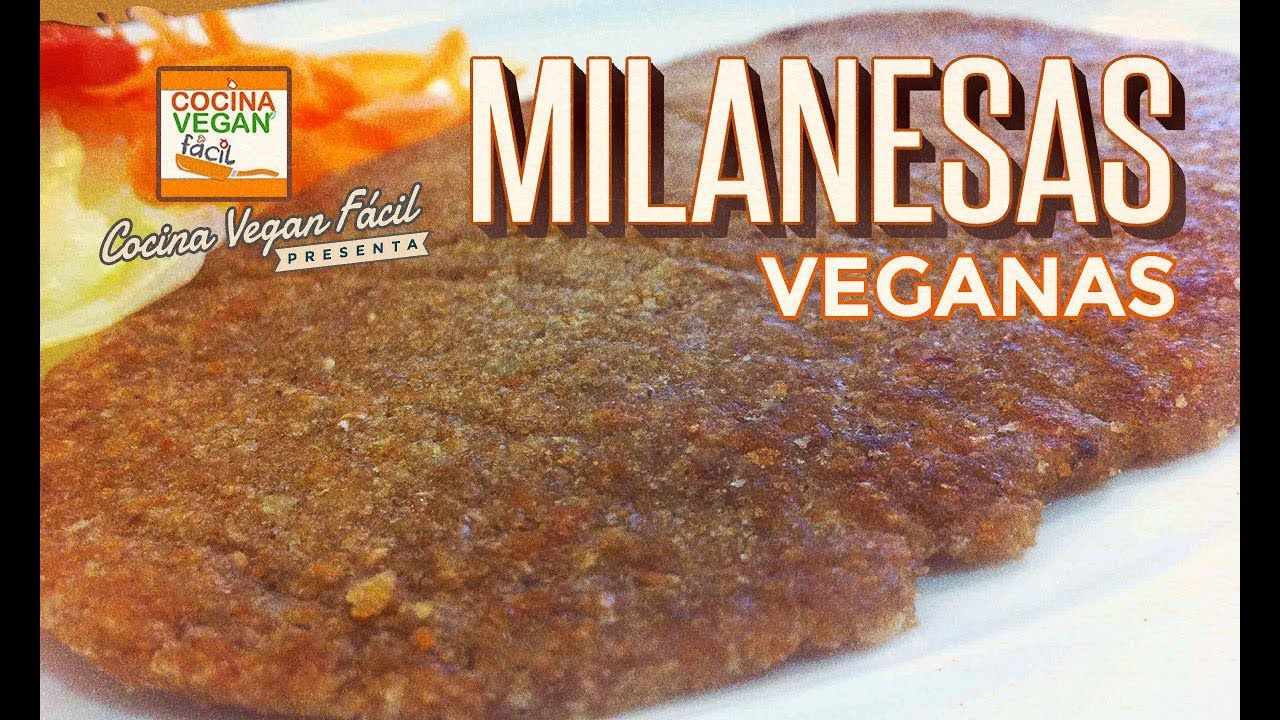 Milanesas veganas  Cocina Vegan Fcil  YouTube
