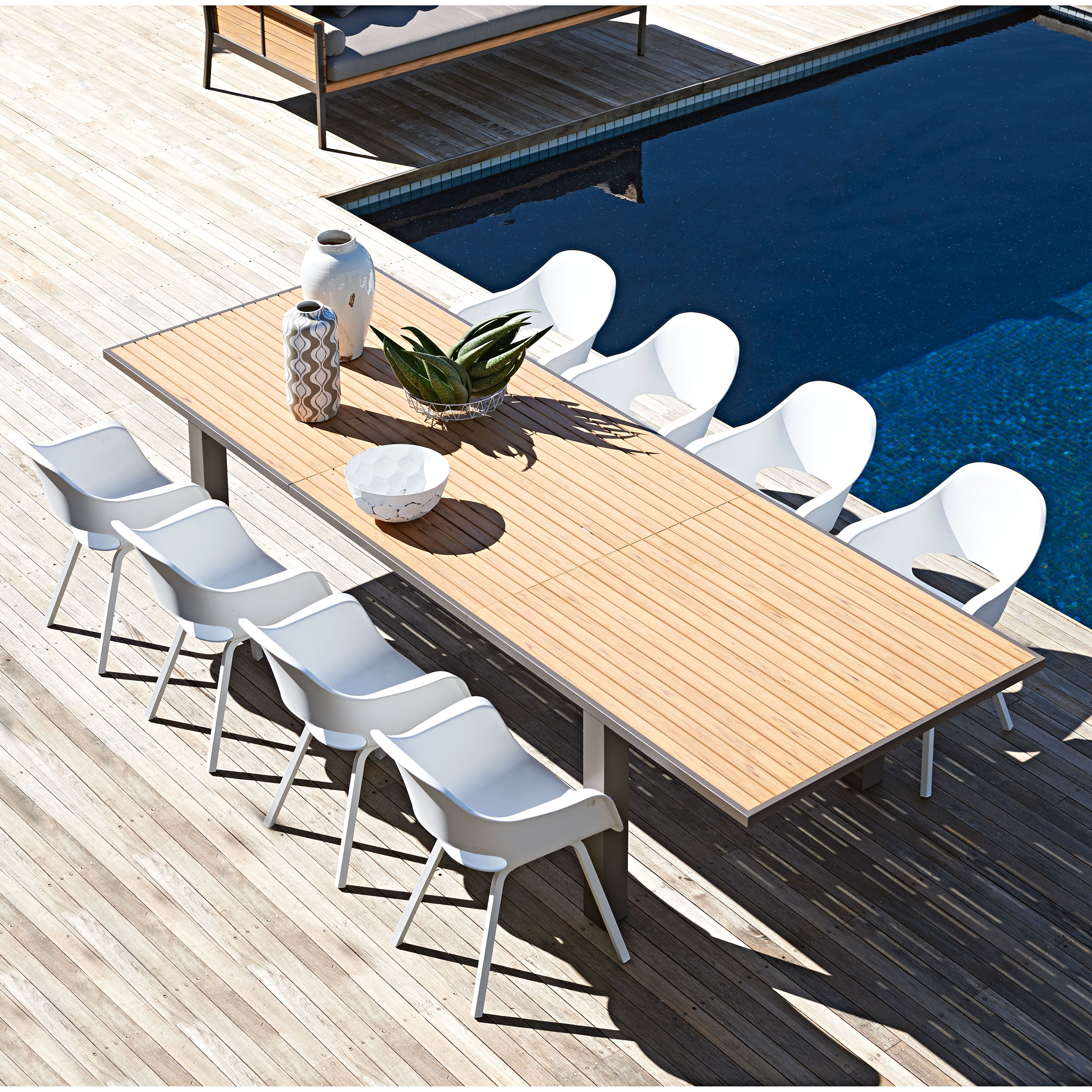 Capri extension dining table available at domayne australia