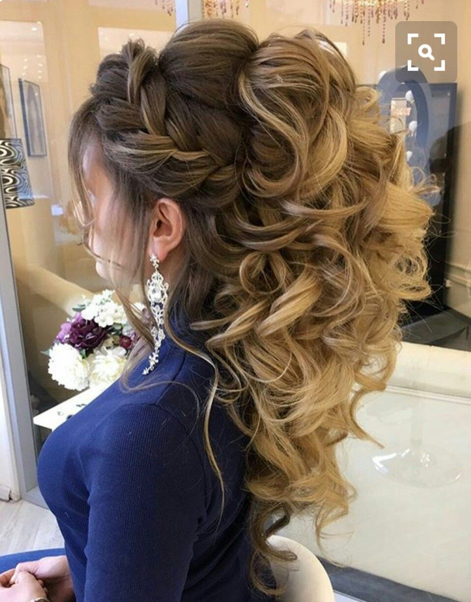Pin By Lydia Castaneda On Wedding Hair Quince Hairstyles Medium