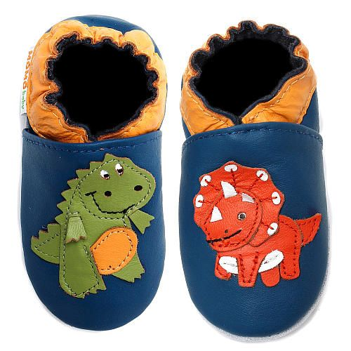 Momo Baby Boys Soft Sole Leather Shoes Dinosaur Momo Baby Babies R Us With Images Leather Baby Shoes Cute Baby Clothes Dinosaur Shoes
