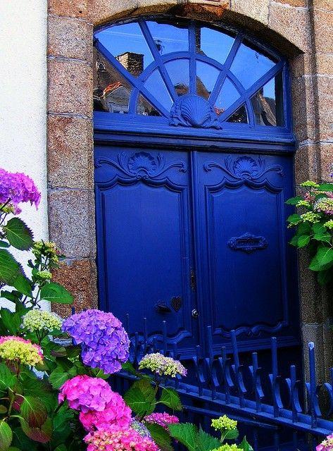 ultramarine #doors