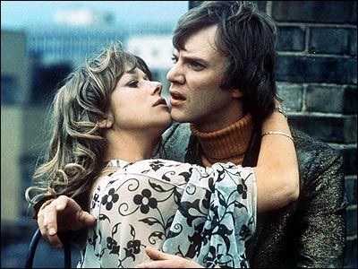 Helen Mirren and Malcolm McDowell in Lindsay Anderson's O Lucky Man!
