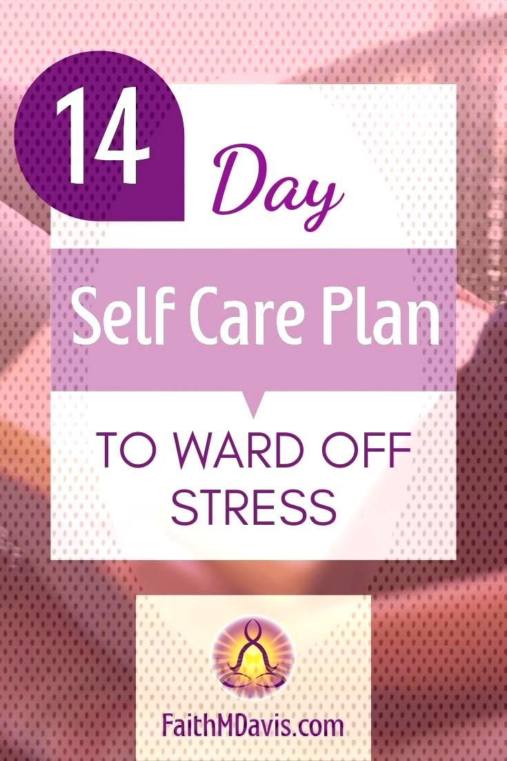 14-Day Self Care Plan to Unlock Stress Prevention We all need a self care plan so that we can enjoy