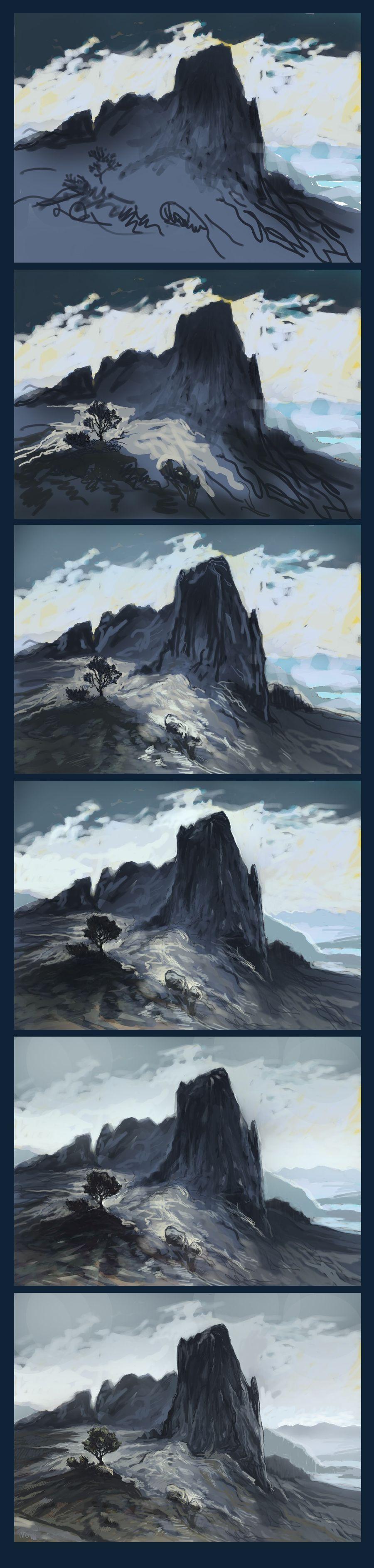 Aaalandscapetutorial3bykresbickyg 9003774 digital art aaa landscape tutorial 3 by kresbicky baditri Images