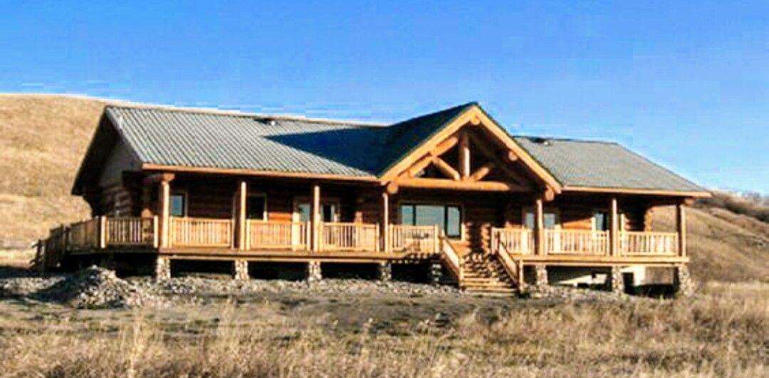 Log Siding On Manufactured Home Ranch Style Homes Ranch Style Home Ranch House Plans