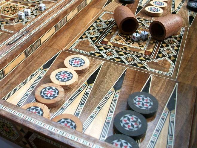 Backgammon Tawla Backgammon Game Room Design Backgammon Set