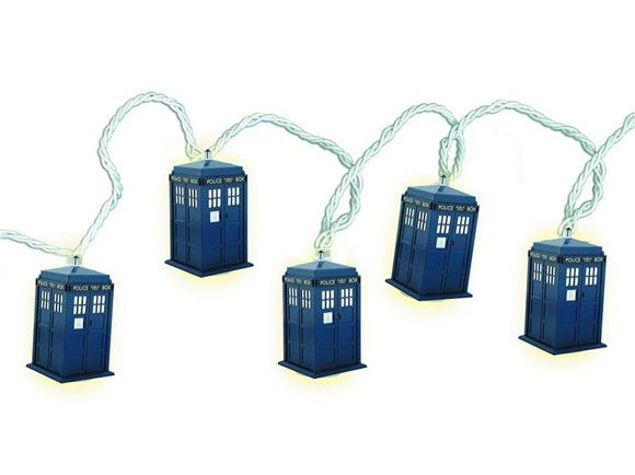 tardis christmas lights me want