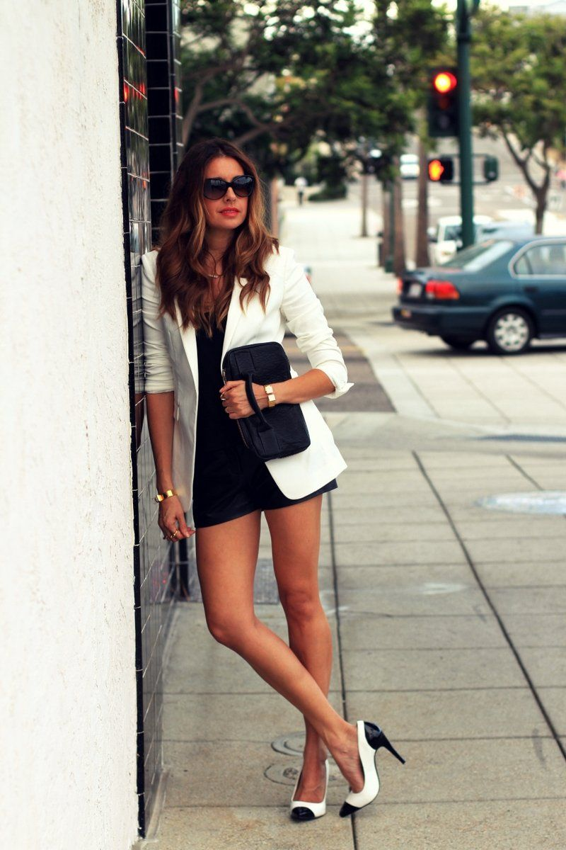 www.streetstylecity.blogspot.com Fashion inspired by the people in the street ootd look outfit leather heels shorts