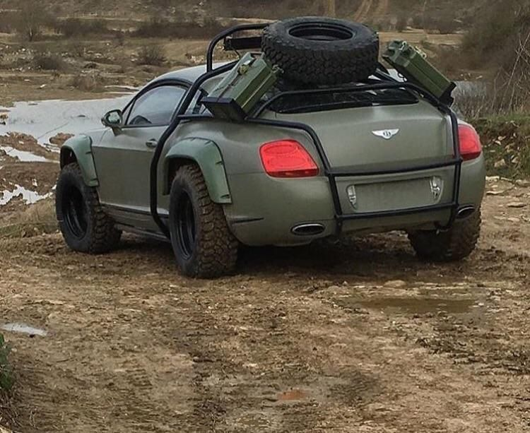 Military Green Off Road Outfitted Bentley Coupe Cool Sports