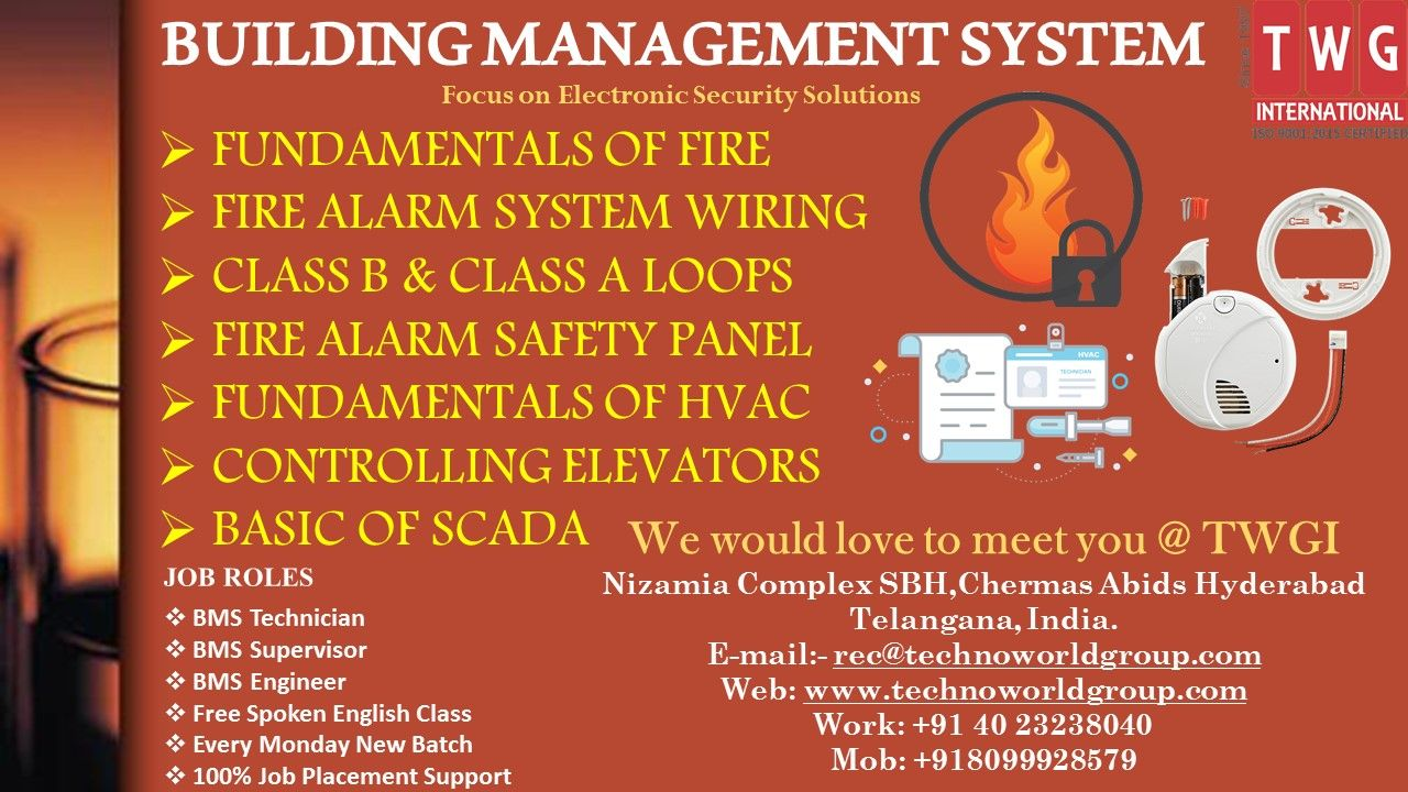 buildingmanagementsysytem training at twginternational fandamentals of fire fire alarm system wiring class b class a loops fire alarm  [ 1280 x 720 Pixel ]