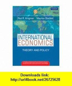 Obstfeld pdf international economics and krugman