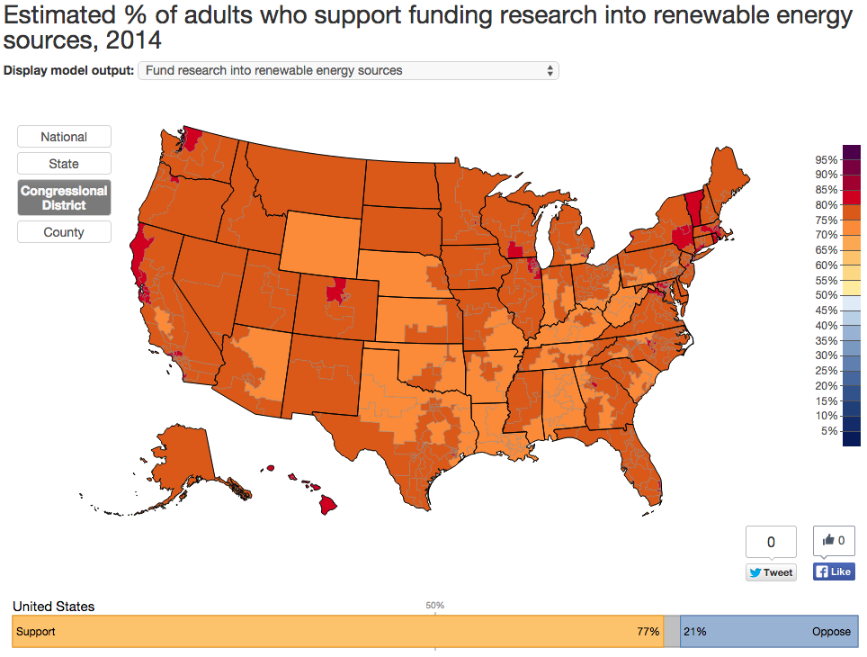 What Americans Think About Climate Change in Seven Maps | Reality ...