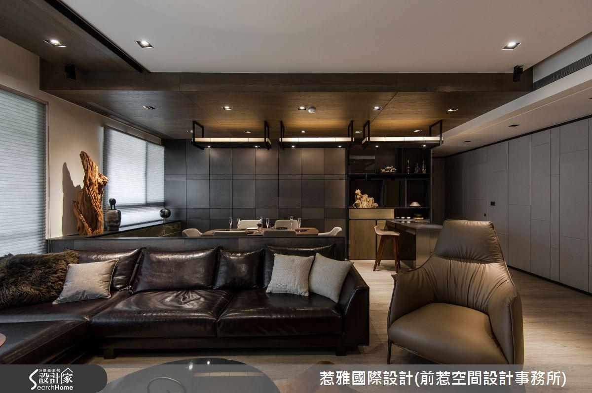 現代風的裝潢圖片為惹雅國際設計 前惹空間設計事務所 的設計作品,該設計案例是一間總坪數為62,格局為三房,更多惹雅