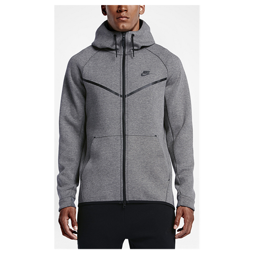 Nike sweatjacke tech fleece grau sport herren fitness und