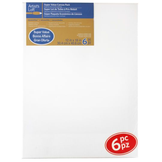 <div><div>Perfect for students or working artists, this canvas set provides great quality at a g...