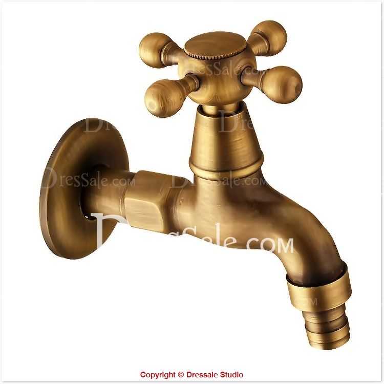 Farmhouse Sink With Faucet Wall Cross Handle Vintage Wall Mounted Faucet Part Cold Water With Images Faucet Parts Wall Mount Faucet Vintage Walls