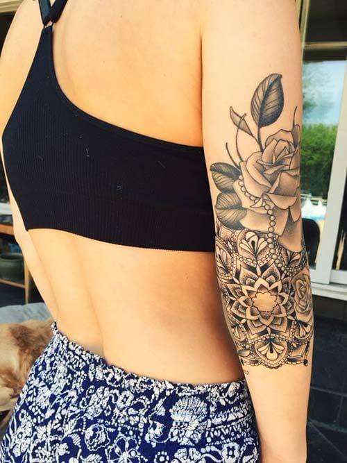 50 Arm Tattoos For Women Tattoos Vrouw Arm Tatoeages