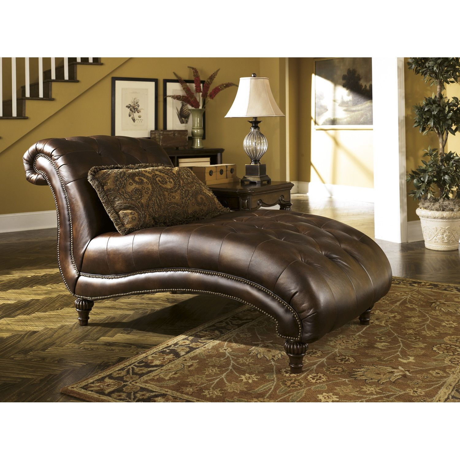 Signature Design by Ashley Alexandria Chaise Lounge | Wayfair ...