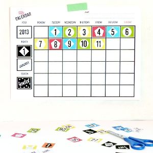 Printable Blank Calendars From Mr Printables  These W Would Be