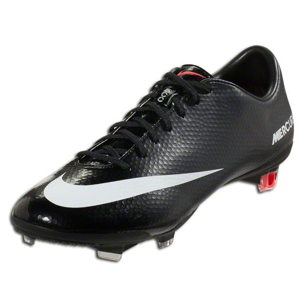 Nike Mercurial Vapor IX FG - Black/White/Dark Charcoal/Atomic Red Firm