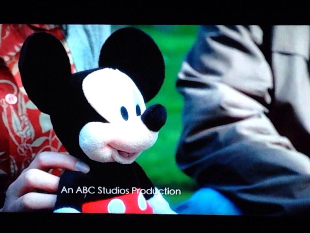 Mickey!!!! Now I see what they did there....