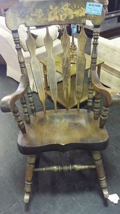 Recreating Junk Rocking Chair Diy Home Decor Projects
