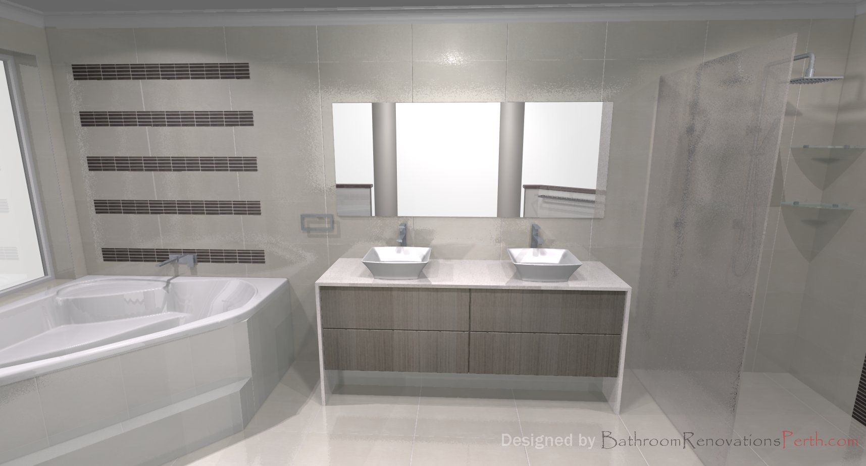Bathroom designers perth - Bathroom Renovations Perth