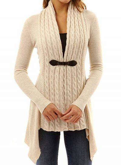 Wenyujh Damen Pullover Langarm Sweatshirt Herbst Winter Pulli Tiefer V-Ausschnitt  One Shoulder Einfarbig Loose 4b754f0888