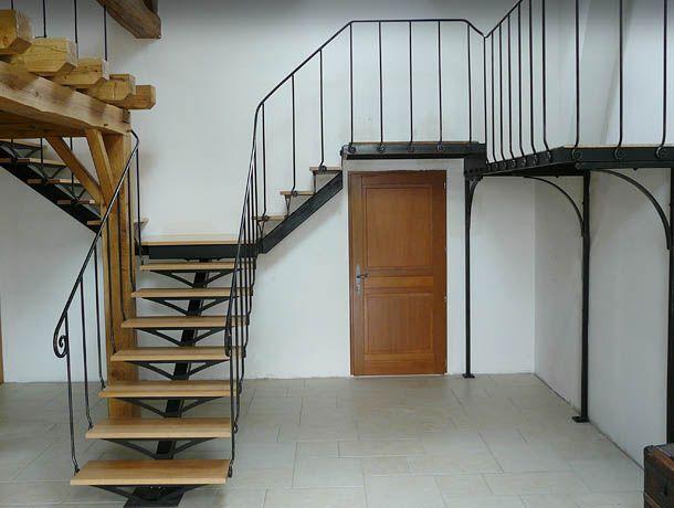 Idée pour l\'escalier :ferronnerie boquet rampe escalier   stairs ...
