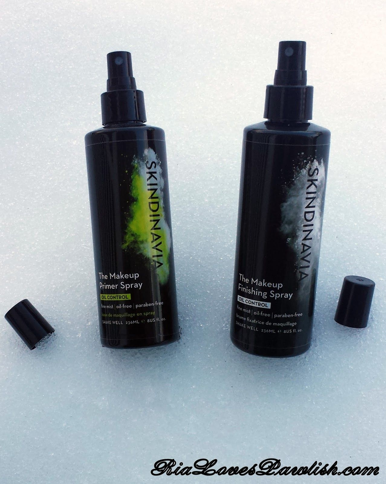 Skindinavia The Makeup Primer and Finishing Sprays in Oil