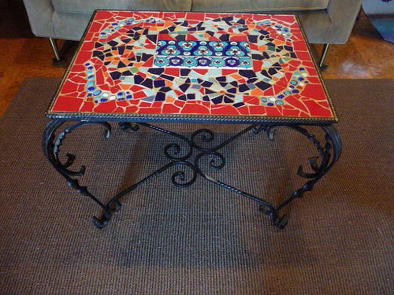 free mosaic patterns for tables mosaic tile table top designs - Mosaic Tile Design Ideas