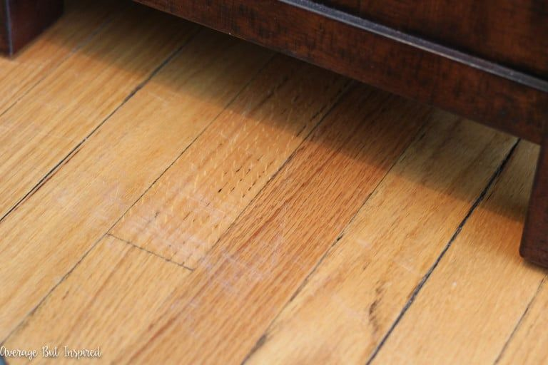 how to fix scratched hardwood floors in no time  average