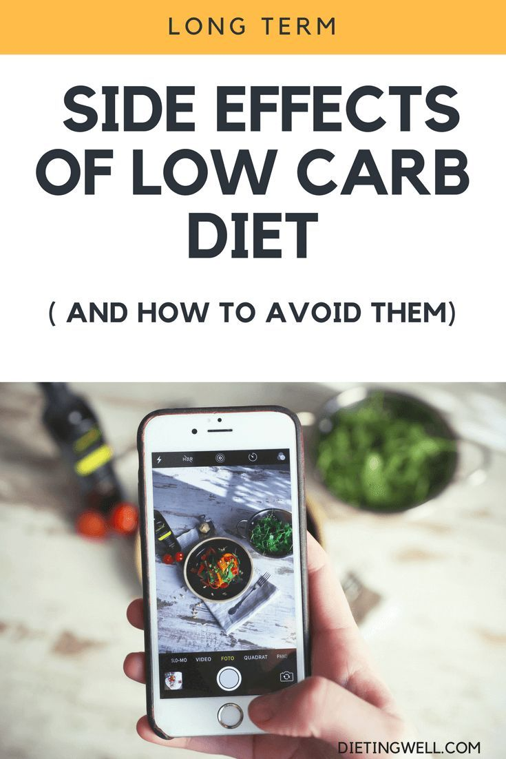 Low-carb eating is a healthy and effective way to lose weight for many people, but may cause some si