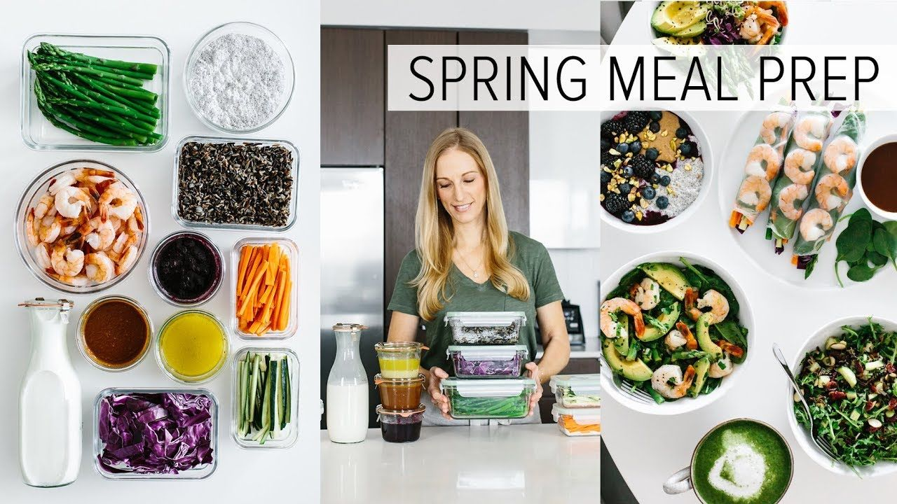 Meal Prep For Spring Healthy Recipes Pdf Guide Healthy Spring Recipes Meal Prep Healthy Recipes