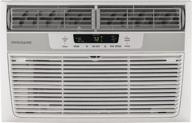 Best Buy Frigidaire 6 000 Btu Window Air Conditioner White Ffra0622s1 Window Air Conditioner Room Air Conditioner Compact Air Conditioner
