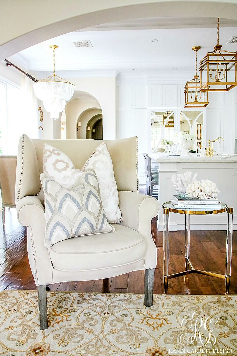 soothing summer home tour 2017 neutral transitional home decor - Transitional Home Decor