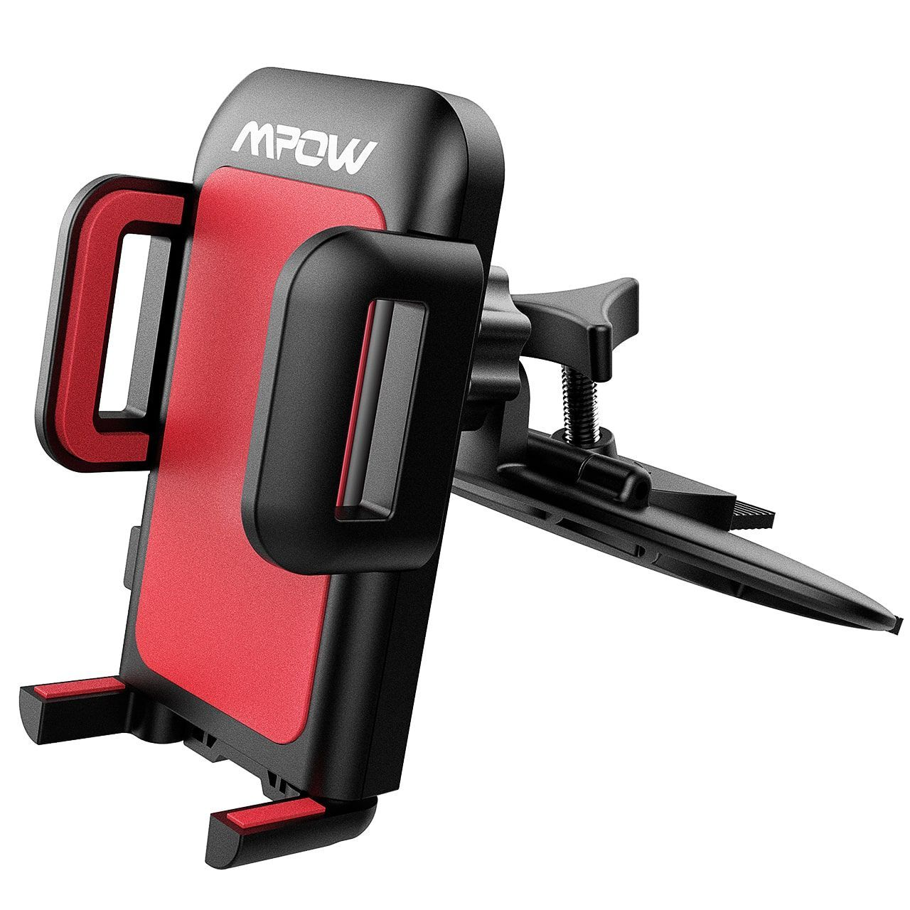 mpow cd slot car mount, universal smartphone holder for iphone 7