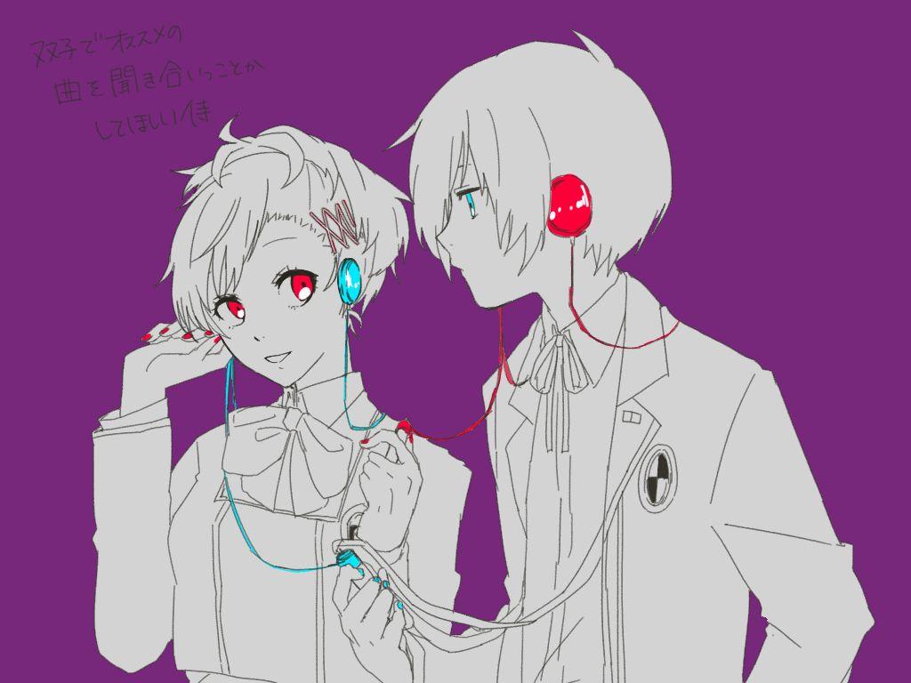 The Twins Persona Shin Megami Tensei Persona Persona 3 Portable