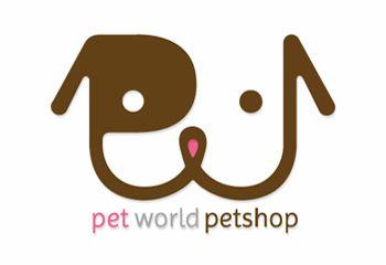 Pet World Petshop logo | Logo | Pinterest | Logos